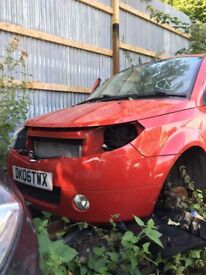 2006 Proton Savvy 5dr Hatchback Red 1.2 Petrol BREAKING FOR SPARES