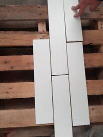 White Wall Tiles 83 x 400