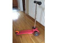 Mini micro scooter in good condition
