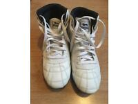 Lonsdale high top white trainers
