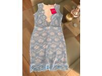 Light blue dress size 8