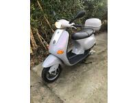 Vespa et 50cc 2003 1500miles from new, moped