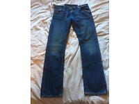 BNWT Straight Cut Ralph Lauren Washed Jeans 34x34