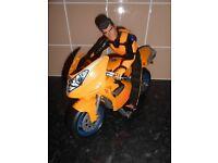 ACTION MAN MOTOR BIKE & FIGURE