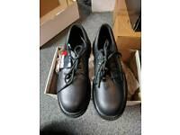 Steel toe work wear safety shoes size 7