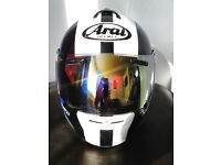 ARAI AXCES 2 SENSAI BLUE.