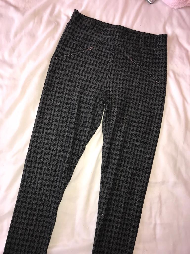 Miss selfridge leggings size 8