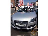 Audi TT only £42 per week on finance