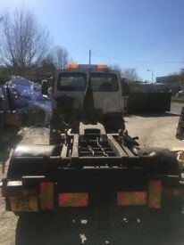 Leyland Daf 10 tonne downrated to 7.5 tonne with HL5 Multilift