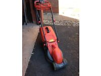 Flymo electric lawnmower - collects the grass - excellent condition.
