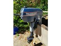 Evinrude 3RE Outboard Motor