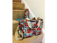 New Cath Kidston Changing Bag, London Print
