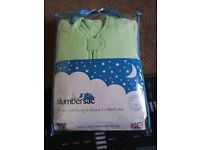 Winter Sleeping Bag with Sleeves Mint Owl Tog 3.5 Size 12-36 Mths Slumbersac