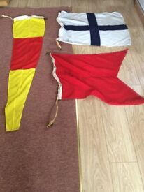 Ex Naval set of Signal flags