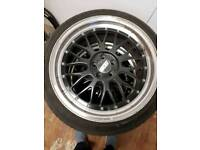 BBS Allloy wheels and tyres