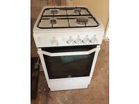 Indesit I5GGW Gas Cooker - White