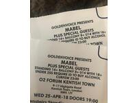 2x Mabel tickets (London sold out! )