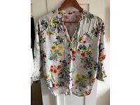 Zara blouse, size L