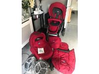 Chicco Arctic pram pushchair carry cot BRAND NEW