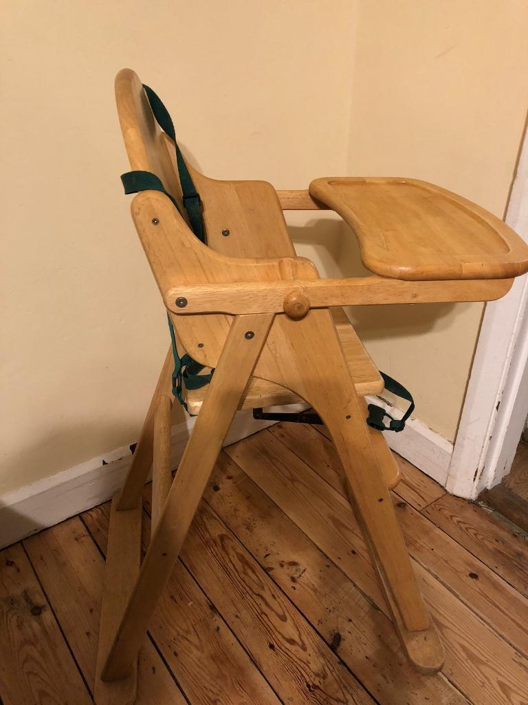 Wooden High Chair In Dover Kent Gumtree