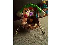 Vibrating Baby Bouncy Chair Fisher Price Deluxe Monkey Bouncer