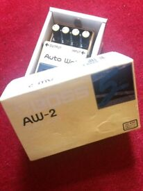 Boss AW-2 auto-wah effects pedal