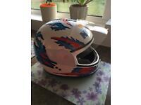 Motorbike Helmet - Medium