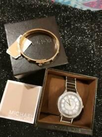 Michael Kors REAL Watch & Bracelet NEW