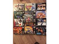 13 boxed rare n64 games plus console