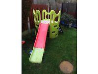 Kids slide and platform