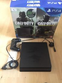 Ps4 slim with call of duty world at war 2 still under warranty 6 months old