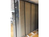 Blinds for Office, school, shop, restaurant perforated venetian blinds