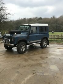 Land Rover defender 90 2.5tdi first to see will buy £5200 Ono 07424245701