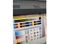 HP L25500 60-in Large Format Latex Printer