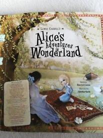 ALICE'S ADVENTURES IN WONDERLAND - Harriet Castor & Zdenko Basic, Hard back.