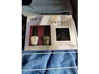 Opi nail polish set with rings