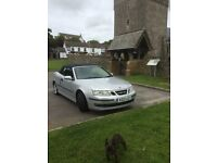 Saab convertible 2 litre automatic in excellant condition for sale