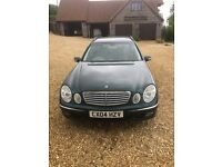 Mercedes E Class Estate Green E320 Diesel Elegance