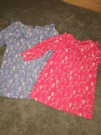 M&S unicorn dresses 9-12 months