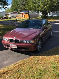 2003 BMW 525 Auto sale or trade for motorcycle