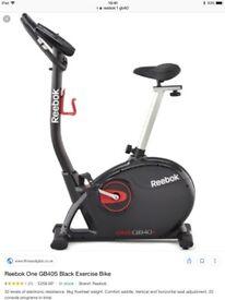New Rebok exercise bike
