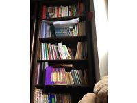 2 solid wood Bookshelves