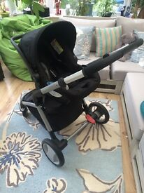 Mother care Roam Pram that turns into an adjustable pushchair