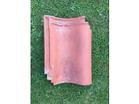Roof tiles - Free to Collector - Pantiles Clay x 120