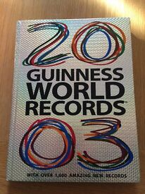 Guinness world records 2003