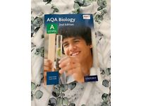 A Level Biology text book and workbook starting from £5