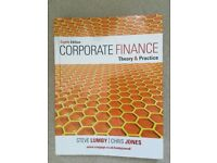 Corporate Finance: Theory & Practice, author Steve Lumby, 8th ed.
