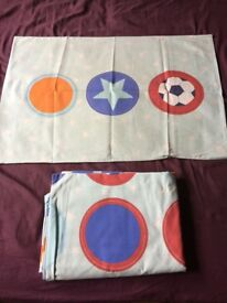 Boys single quilt/duvet covers