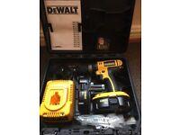 DeWalt DC725 professional cordless drill worth £229!