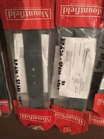 various new in box moun field lawnmower blades
